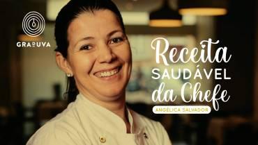 Estaladiço de queijo cabra, goiaba e vinagrete de graduva by Chefe Angélica Salvador