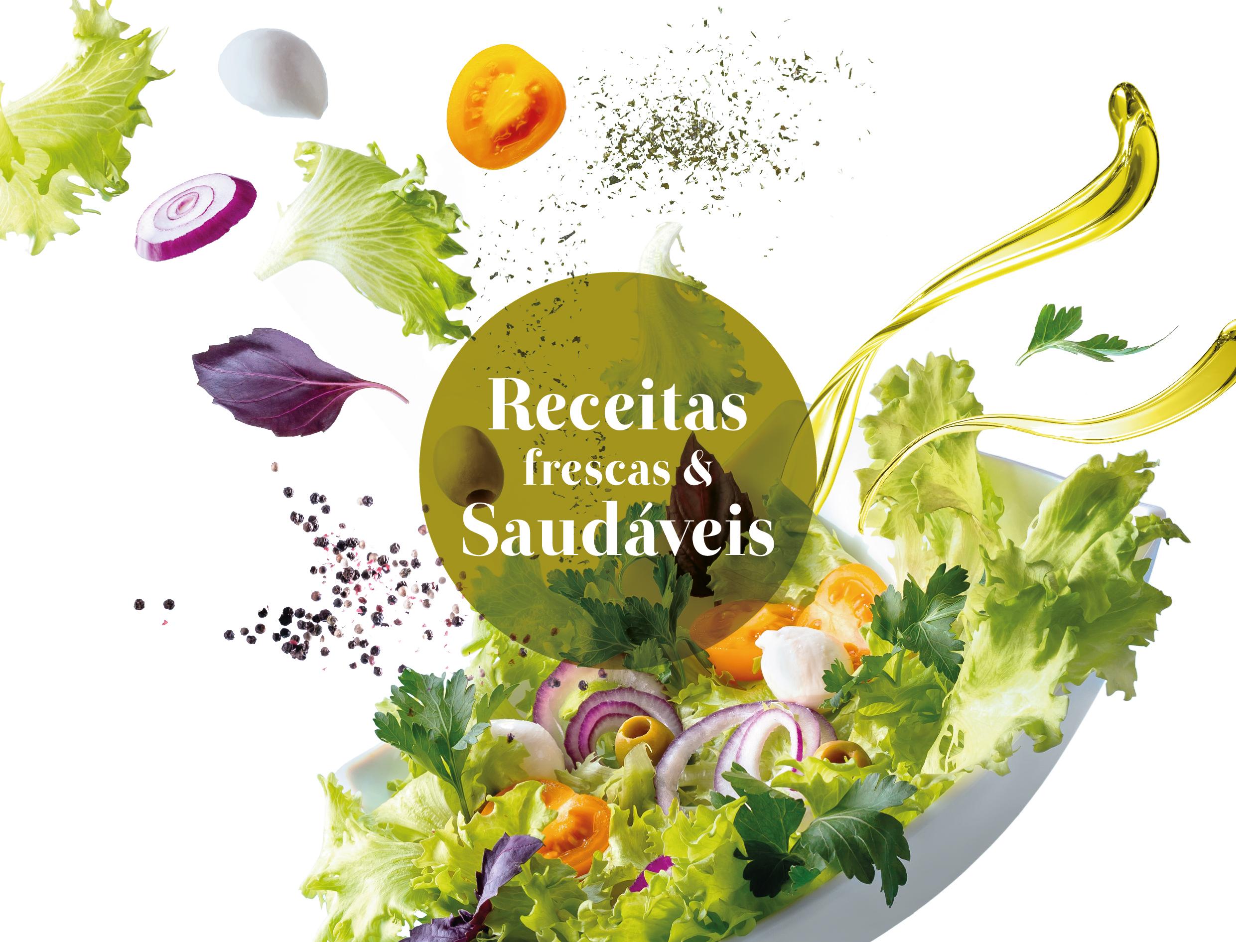5 Receitas Frescas e Saudáveis